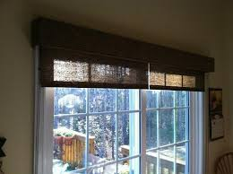 glass sliding door coverings the sliding glass door is cover by a rolled blinds allow the user