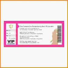 5 concert ticket template letterhead template sample