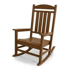Recycled Plastic Rocking Chairs Recycled Plastic Outdoor Rocking Chair Polywood Presidential