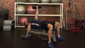 Dumbbell Exercises On Bench Exercises Using A Bench