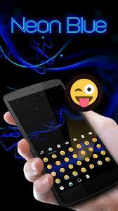 go keyboar apk neon blue go keyboard theme 4 16 apk androidappsapk co