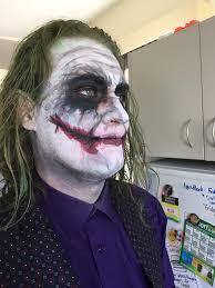 Heath Ledger Halloween Costume Basic Heath Ledger Joker Face Paint U2014 Stan Winston