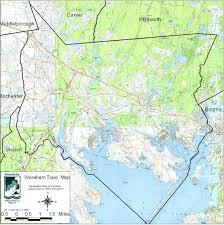 Plymouth Massachusetts Map by Wareham Buzzards Bay National Estuary Program