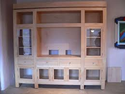 Oak Tv Cabinets With Glass Doors Image Gallery Of Oak Tv Cabinets With Doors View 20 Of 20 Photos