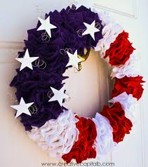 10 gorgeous yet easy patriotic wreaths creatively organized