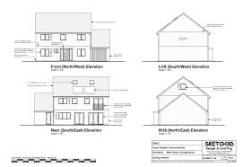 house elevation plans exle house plans luxamcc org
