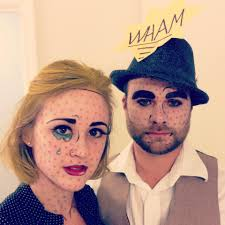 halloween costume ideas for couples pinterest halloween diy comic book pop artween costume group ideas
