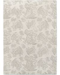 Paisley Area Rug Deals On Paisley Gray Distressed Area Rug By