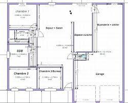 plan de maison plain pied 5 chambres idee maison plain pied maison plain pied idaces de plans sur