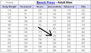 what should i be benching for my weight bench press calculator body weight age benchchart with additional