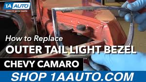 buy 2010 camaro how to replace install outer light bezel 2010 13 chevy camaro