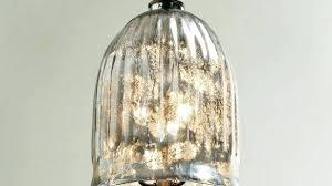 Glass Pendant Lighting Blue Mercury Glass Pendant Lights Light Blue Quilted Mercury Blown