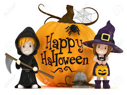 free halloween costumes 3d render of kids wearing halloween costumes stock photo picture