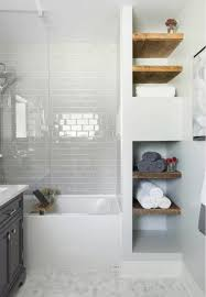 Small Shower Ideas For Small Bathroom Storage Built In Bathroom Pinterest Master Bathrooms Modern
