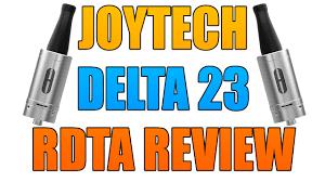 Joyetech Delta 23 Atomizer 6ml joyetech delta 23 closeup review
