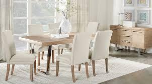 Dining Room Table Light Light Wood Dining Room Sets Pine Oak Beige Etc