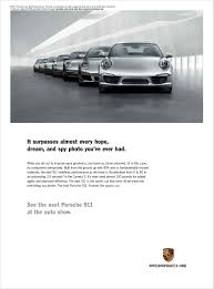 vintage porsche ad porsche print on behance