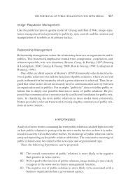 Neutral Connotation Jo 2003 The Portrayal Of Public Relations In The News Media