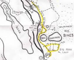 Sedona Map Adventure Inspired Mountain Biking In Sedona The First Chapter