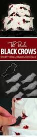 Halloween Red Velvet Cake by Black Crow Halloween Cake