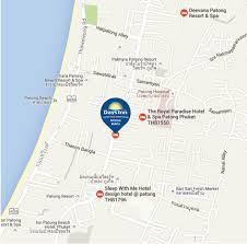 Phuket Map Budget Hotel In Patong Phuket Daysinn Patong Phuket Thailand