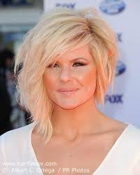short hair one side and long other kimberly caldwell hair love the long on one side shorter on the