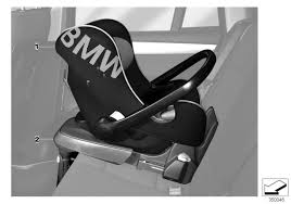 bmw car seat bmw genuine isofix base in black for baby car seat for 0 1