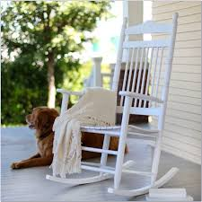 white wooden outdoor rocking chairs chairs home design ideas