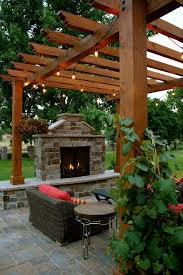 Kitchen Outdoor Design Best 25 Southwestern Outdoor Fireplaces Ideas On Pinterest