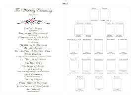 blank wedding program templates playbill program template diy guide for creating a playbill