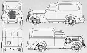 dodge panel delivery blueprint download free blueprint for 3d