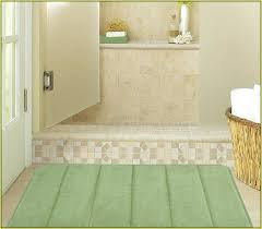Bathroom Rugs Walmart New Bathroom Rugs Walmart And Memory Foam Bath Rugs Sets 85 Green