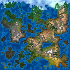 World Map Generator by Fantasy Map Maker Photoshop Action Script