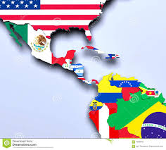 America Central Map by America Central Map 3d Render Stock Illustration Image 79099421