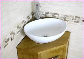 Small Corner Sink White Bermuda Corner Cloakroom Basin Th  X - Corner bathroom sink and cabinet