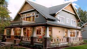 Craftsman Home Craftsman Style House Exterior Paint Colors Youtube