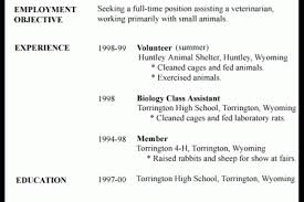 Resume Examples For Jobs by Example Part Time Job Resume Lila Agapito California Arcata Ca