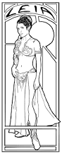 princess leia coloring pages 4072