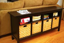 Sofa Back Table by Sofa Table With Storage Design U2014 The Furnitures