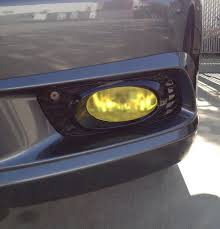 what do fog lights do painted my fog lights yellow not too happy what do you think