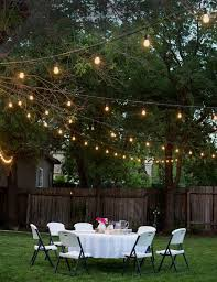 backyard string lights patio ambiance cozy comfy outdoor