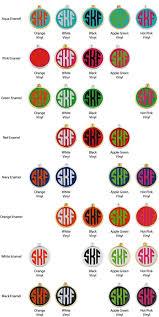 Monogrammed Earrings Enamel Earrings Monogram