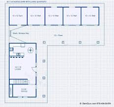 horse barn with apartment floor plans new shed row horse barn with living quarters the homestead