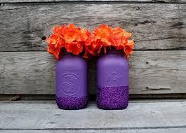 Mason Jar Vases Wedding Best 25 Purple Mason Jars Ideas On Pinterest Mason Jars For