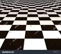 Black And White Checkered Laminate Flooring Large Black White Checker Floor Background Stock Photo 3831226