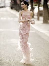 armani wedding dresses armani prive pale pink strapless evening gown eugenia silva for