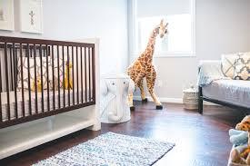 sneak a peek dillon u0027s safari nursery the effortless chic