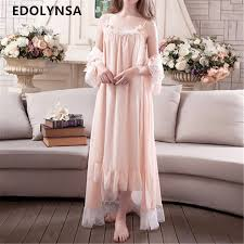 wedding peignoir sets new arrivals lace nightgown robes set bathrobe sets