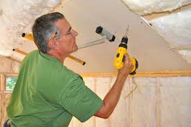 How To Hang Drywall On Ceiling By Yourself by How To Panel A Wall