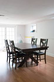 Diy Paint Dining Room Table Before And After Diy Chalk Paint Dining Table And Chairs